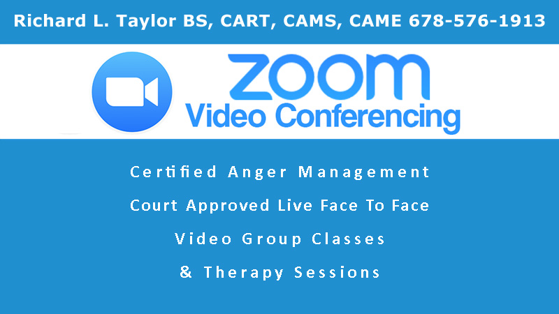ZOOM VIDEO CONFERENCING COACHING SESSIONS INTENSIVES INTERVENTION BY RICHARD L TAYLOR 6785761913