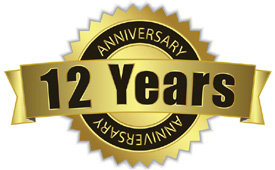 12th Anniversary In Business
